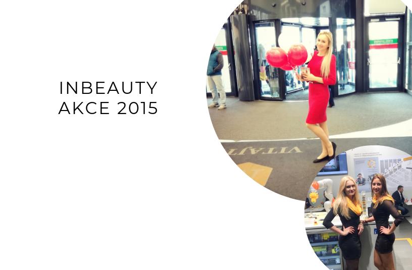 Inbeauty hostesky na akcích 2015